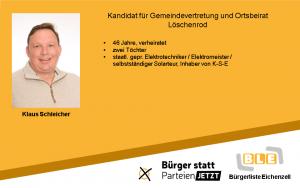 Klaus Schleicher
