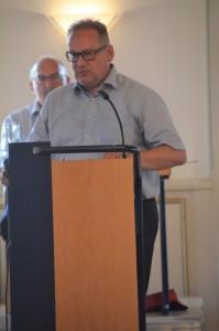 Joachim Weber, stellvertretender Fraktionsvorsitzender der Bürgerliste